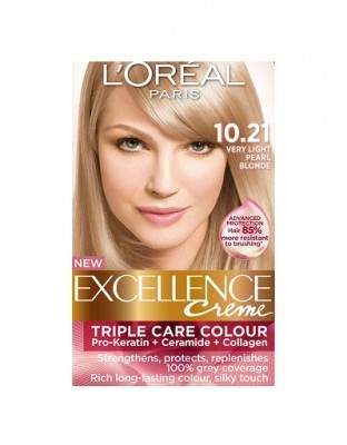 Loreal Excellence Creme 10 21 Very Light Pearl Blonde