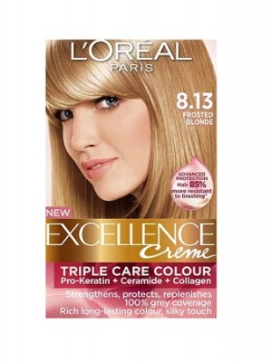 loreal excellence creme frosted blonde hair color. Black Bedroom Furniture Sets. Home Design Ideas