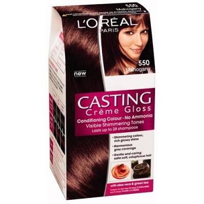 Loreal Paris Casting Creme Gloss 550 Mahogany Hair Color