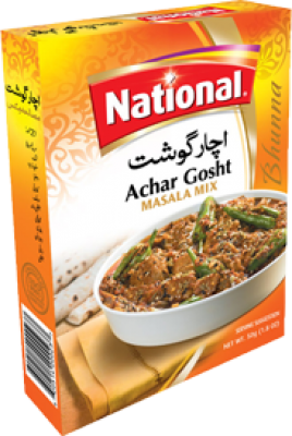 National Achar Gosht Masala Mix Spices Gomart Pk