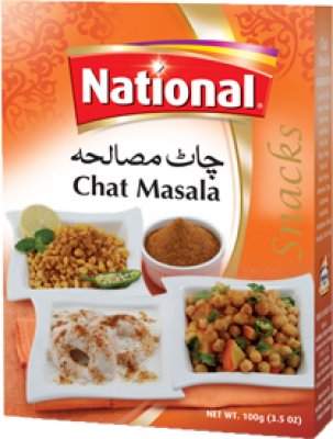 National Chaat Masala Mix 50gm Spices Gomart Pk