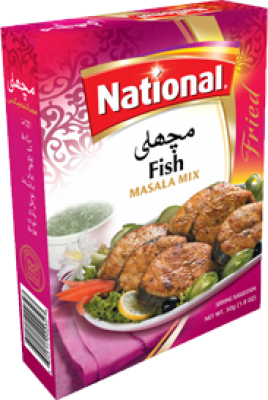 National Fish Masala Mix (Sachet) - Spices | Gomart.pk