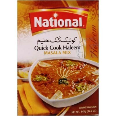 National Haleem Masala Quick Cook Mix 345gm Spices