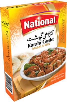 National Karahi Gosht Masala Mix Sachet Spices Gomart Pk