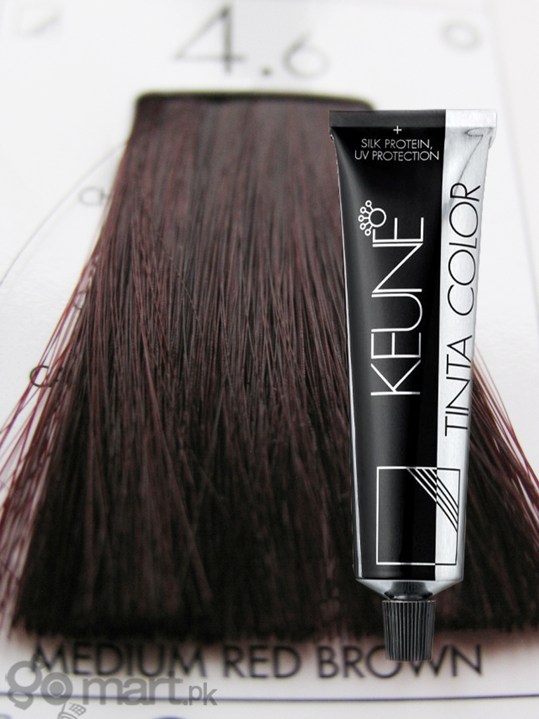 Keune Tinta Color Medium Red Brown 4.6 - Hair Color & Dye
