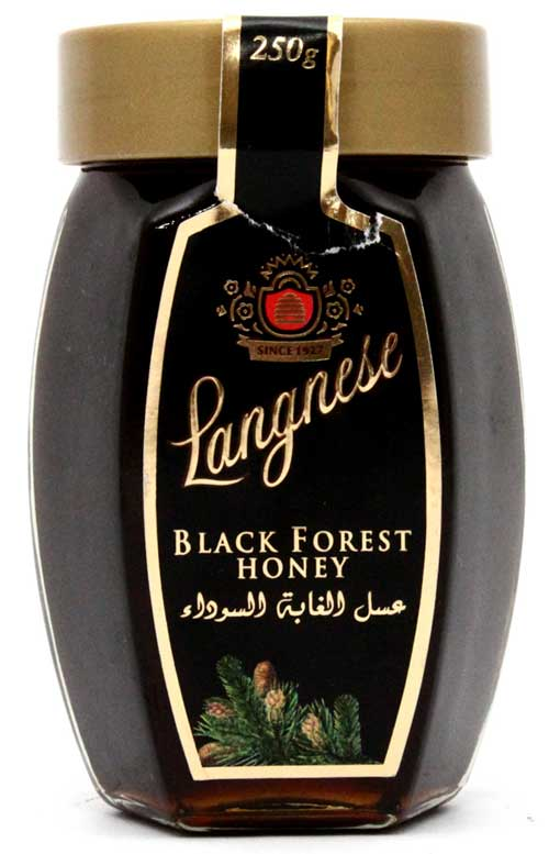Langnese Black Forest Honey (250gm) - Jams, Jelly, Cheese