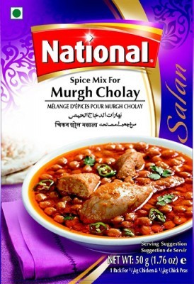 National Murgh Cholay Masala Mix (50gms) - Spices | Gomart.pk